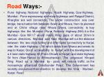 road ways