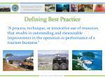 defining best practice