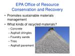 epa office of resource conservation and recovery