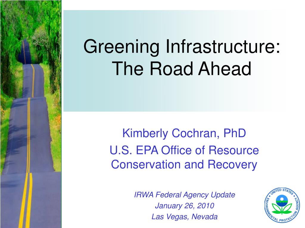 greening infrastructure the road ahead l.