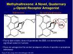 naltrexone n methylnaltrexone