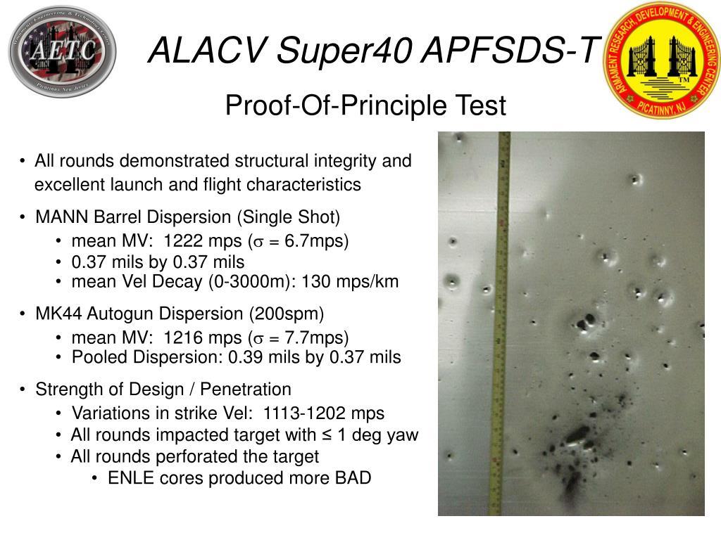 ALACV Super40 APFSDS-T