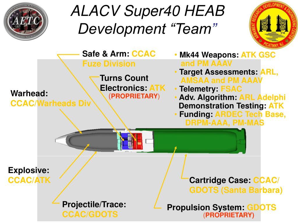 ALACV Super40 HEAB