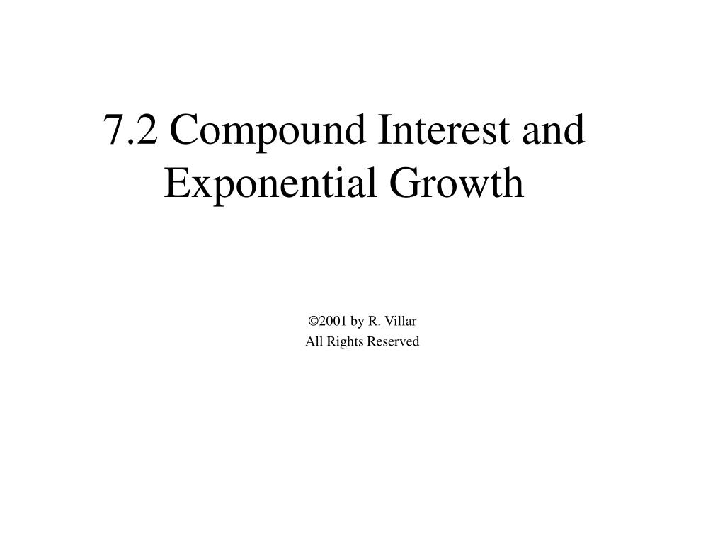 7 2 compound interest and exponential growth l.