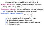 compound interest and exponential growth