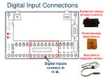 digital input connections