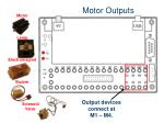 motor outputs