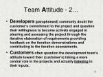 team a ttitude 2