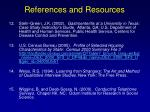 references and resources139