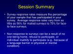 session summary132