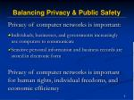 balancing privacy public safety5