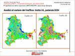 analisi al variare del traffico tratta ul potenza dch