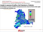 analisi in assenza di traffico soft handover e pollution