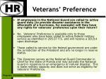 veterans preference15