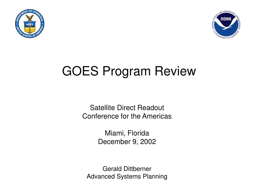 goes program review l.