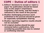 cope duties of editors 1