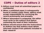 cope duties of editors 2