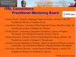 itrl connections practitioner mentoring board