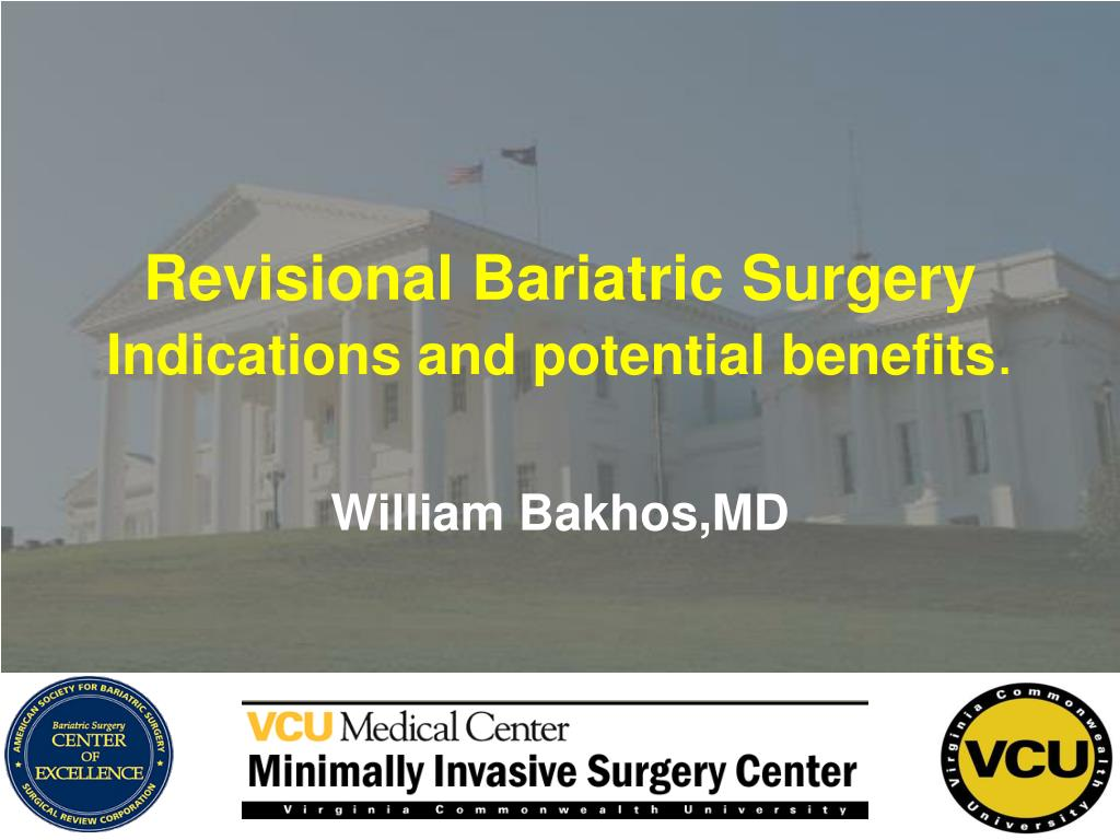 revisional bariatric surgery indications and potential benefits l.