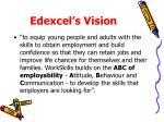 edexcel s vision