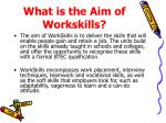 what is the aim of workskills