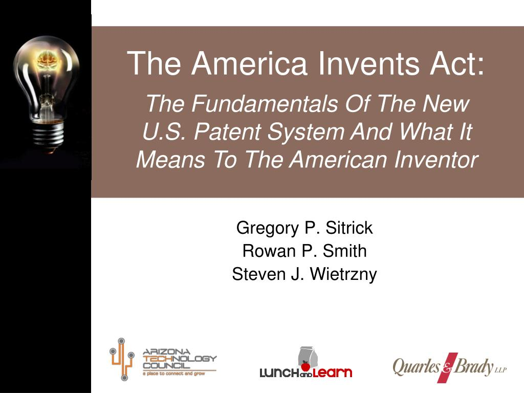 the america invents act l.