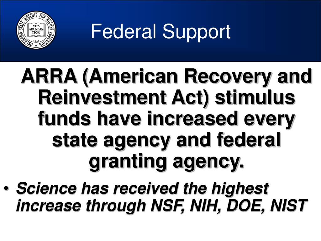 Federal Support
