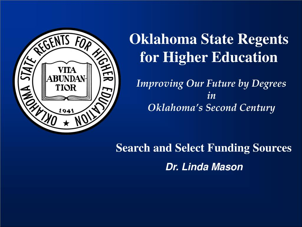 Oklahoma State Regents for Higher Education