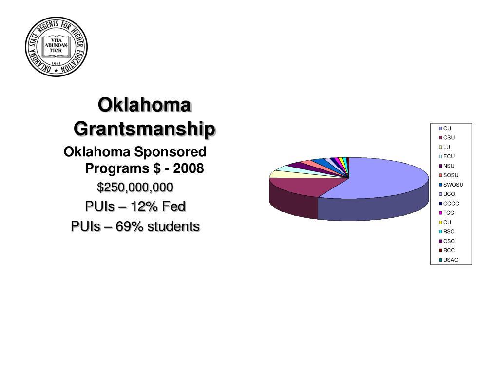 Oklahoma Grantsmanship
