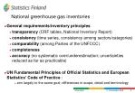 national greenhouse gas inventories9