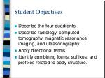 student objectives3