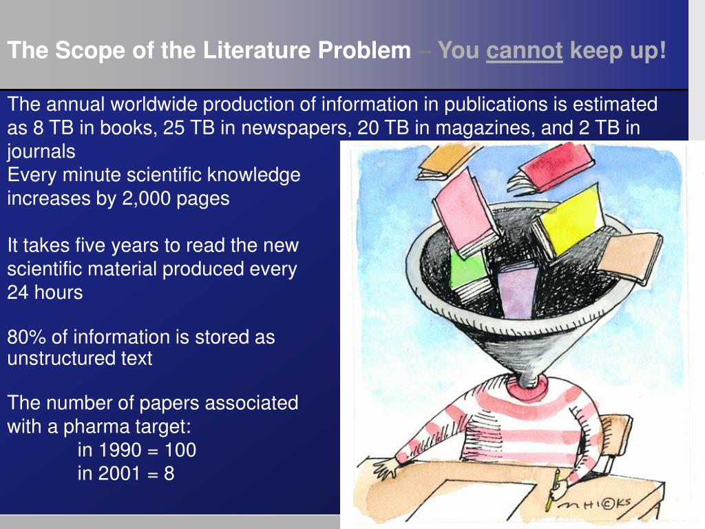 The Scope of the Literature Problem