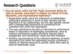 research questions33