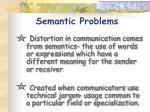 semant i c problems