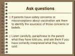 ask questions6