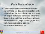 data transmission36