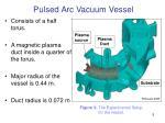 pulsed arc vacuum vessel