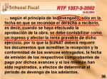 rtf 1357 3 2002 15 03 2002