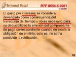 rtf 8534 5 2001 19 10 2001