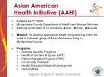 asian american health initiative aahi