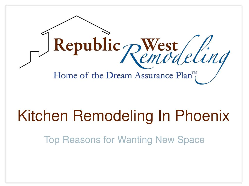 kitchen remodeling in phoenix l.