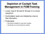 depiction of cockpit task management in fom training11