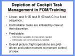 depiction of cockpit task management in fom training13