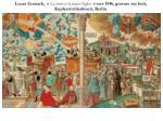 lucas cranach la vraie et la fausse eglise vers 1546 gravure sur bois kupferstichkabinett berlin