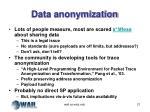 data anonymization