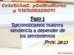 cristiano posmoderno y victorioso