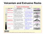 volcanism and extrusive rocks33