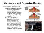 volcanism and extrusive rocks35