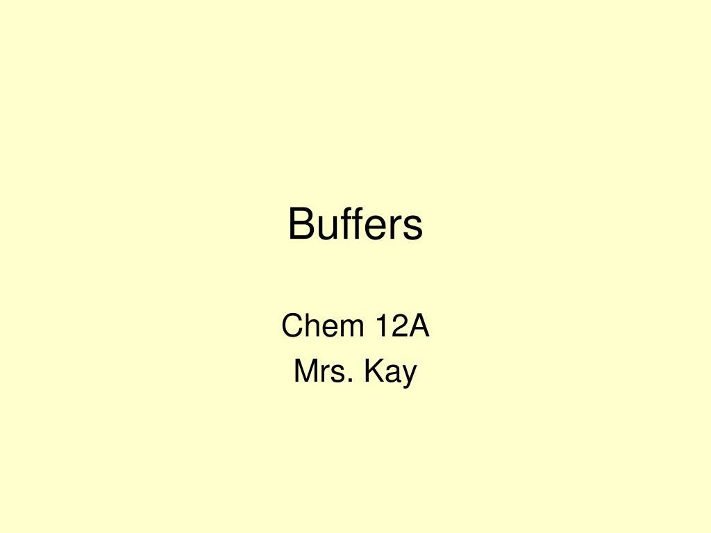buffers l.