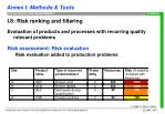 i 8 risk ranking and filtering7